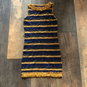 Twelve by Twelve LA Stripe Sweater Mini Dress S